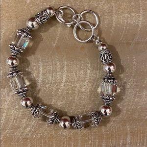 🌟SILPADA Swarovski Crystal & Sterling Bracelet
